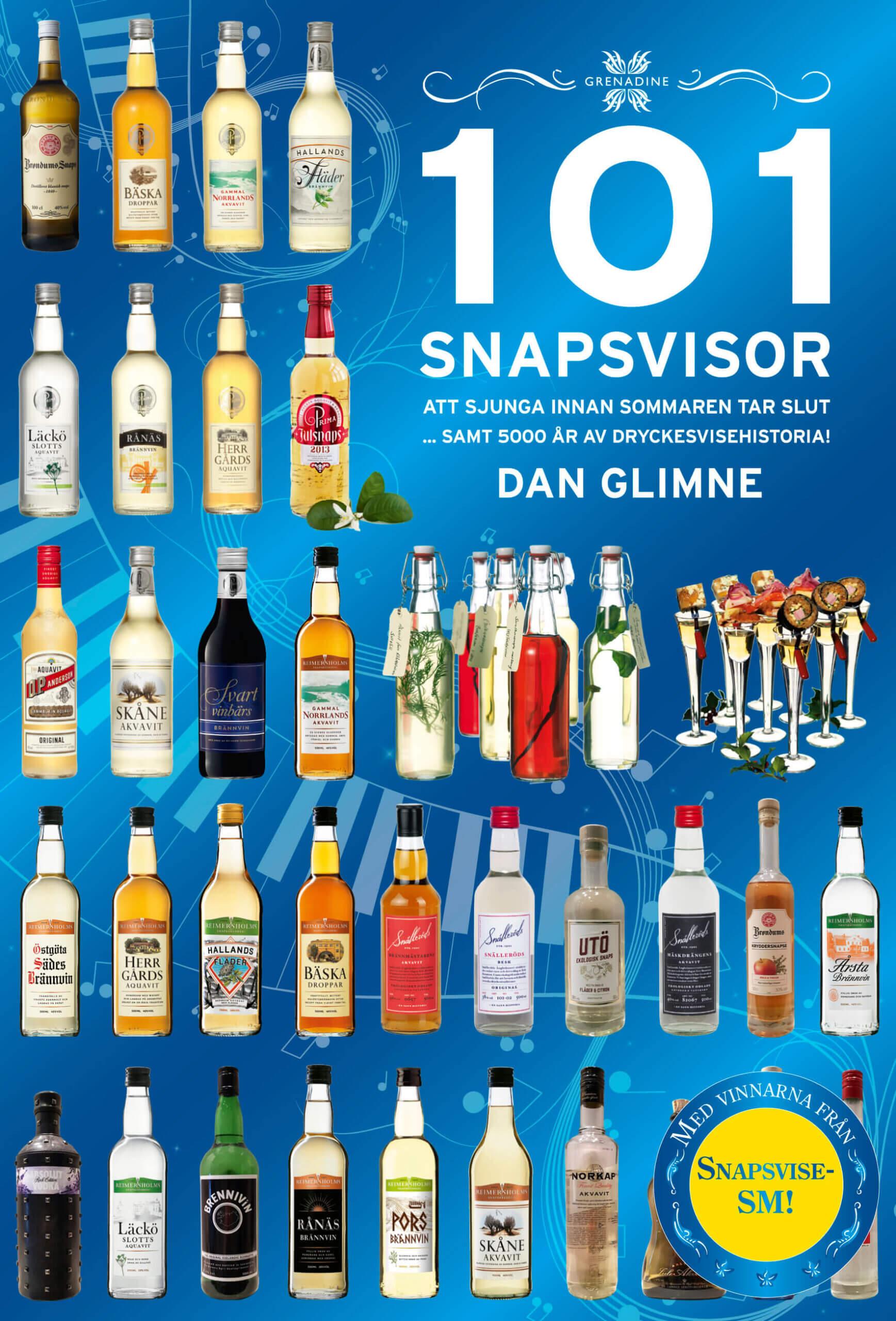 101 Snapsvisor av Dan Glimne